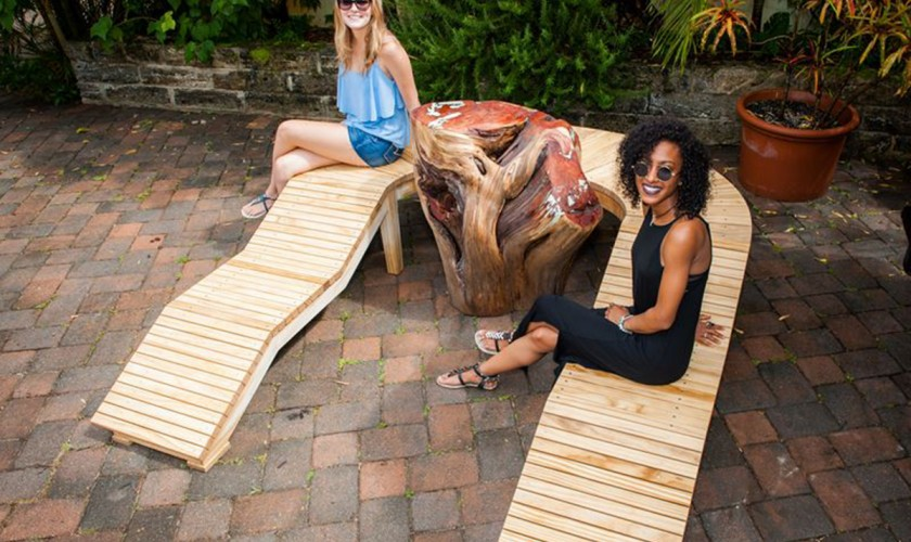 The-Moongate-Bench