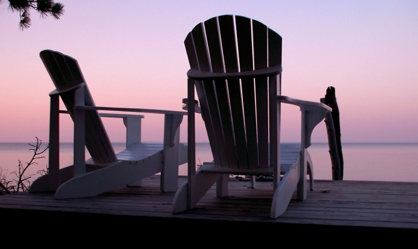 empty-chairs-and-sunset