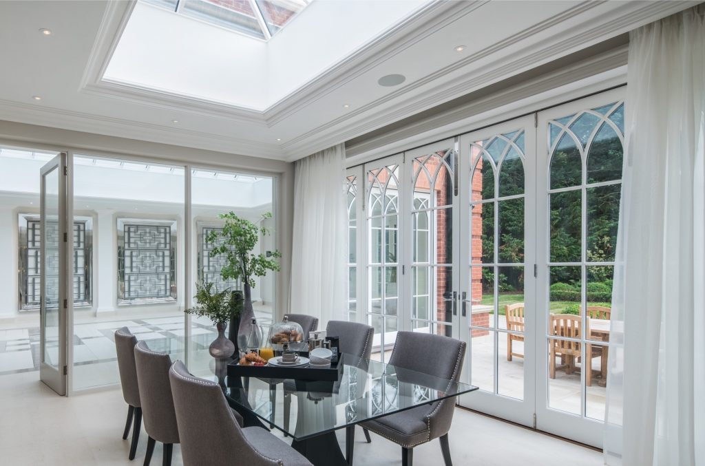 BI-FOLD DOORS SELECTED FOR SURREY HOME